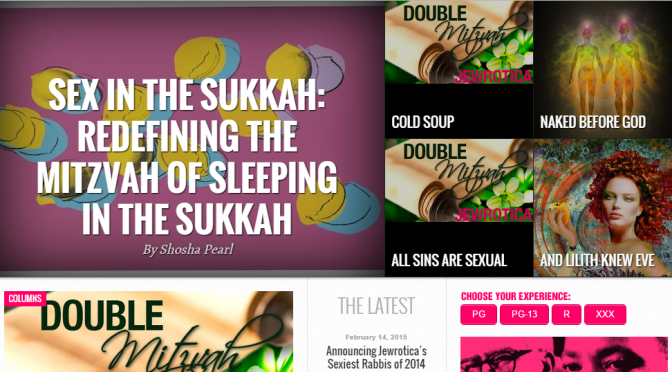 Sex in the sukkah, anyone?